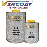 VIRCOAT 2:1 Super Fast Dry Clear & Hardener