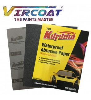 KURUMA Hight Quality Waterproof Abrasive Paper/ Sand Paper 10PCS