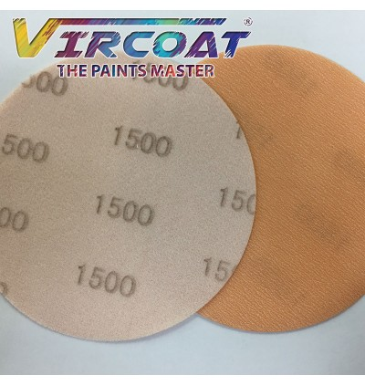 5 inch 6 inch Sanding Disc/ Abralon Sand Disc Waterproof Hook and Loop Film - Wet Sand Auto 1PCS