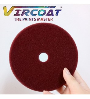 6 Inch Heavy Cutting Foam Maroon/ Polishing Foam